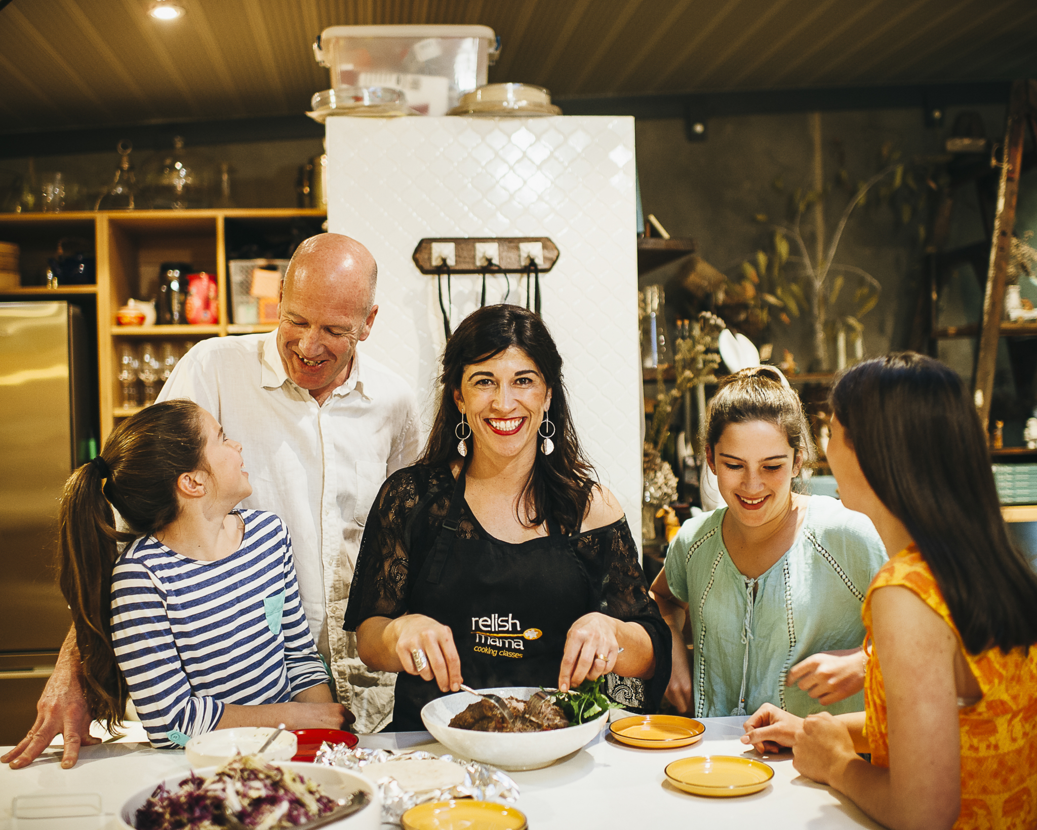How An Informal Cooking Demonstration Launched Her New Life…