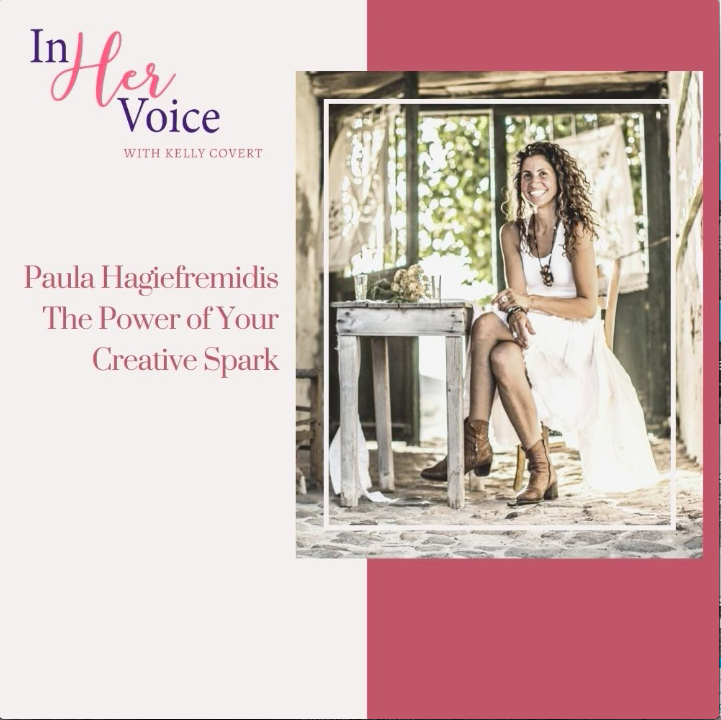 My Interview as a guest on the: In Her Voice Podcast